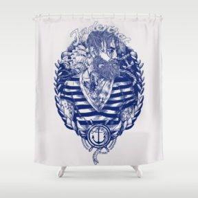 fadenrot-sailor-bosse-shower-curtains
