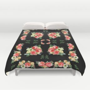 tiny-bluetenschoen-black-duvet-covers