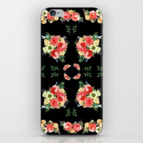 tiny-bluetenschoen-black-phone-skins